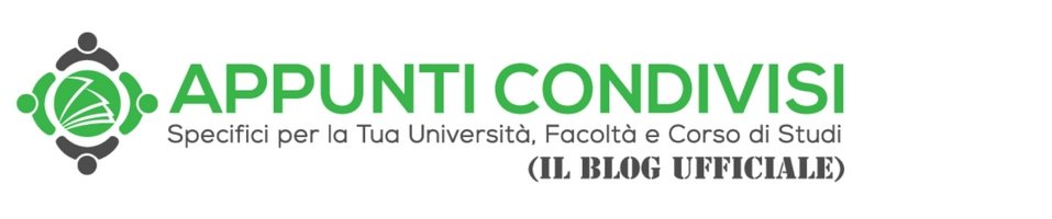 Il Blog di Appunti Condivisi