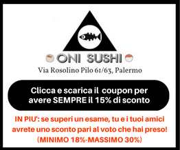 Scarica il Coupon Sconto Oni Sushi
