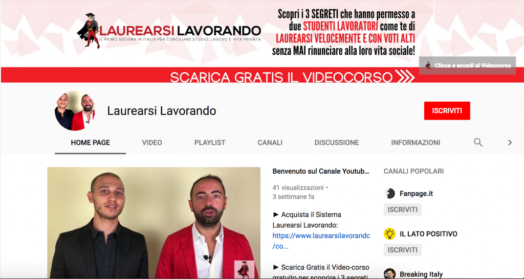 laurearsi-lavorando-youtube